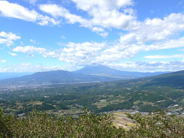 伊豆スカイラインから望む富士