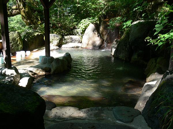平湯温泉 神の湯