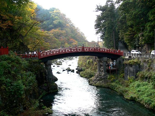 日光 神の橋