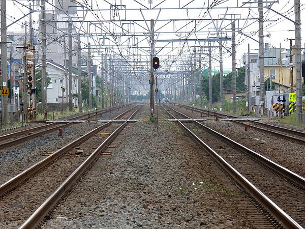 東海道線 辻堂駅付近