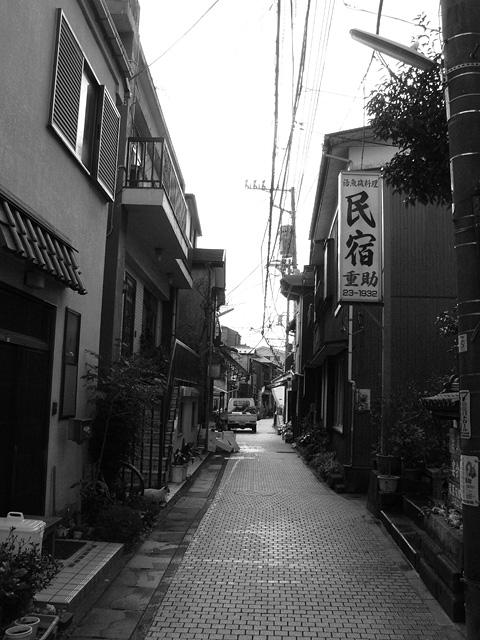 江ノ島の路地裏
